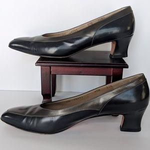 Salvatore Ferragamo 2 Tone Heels